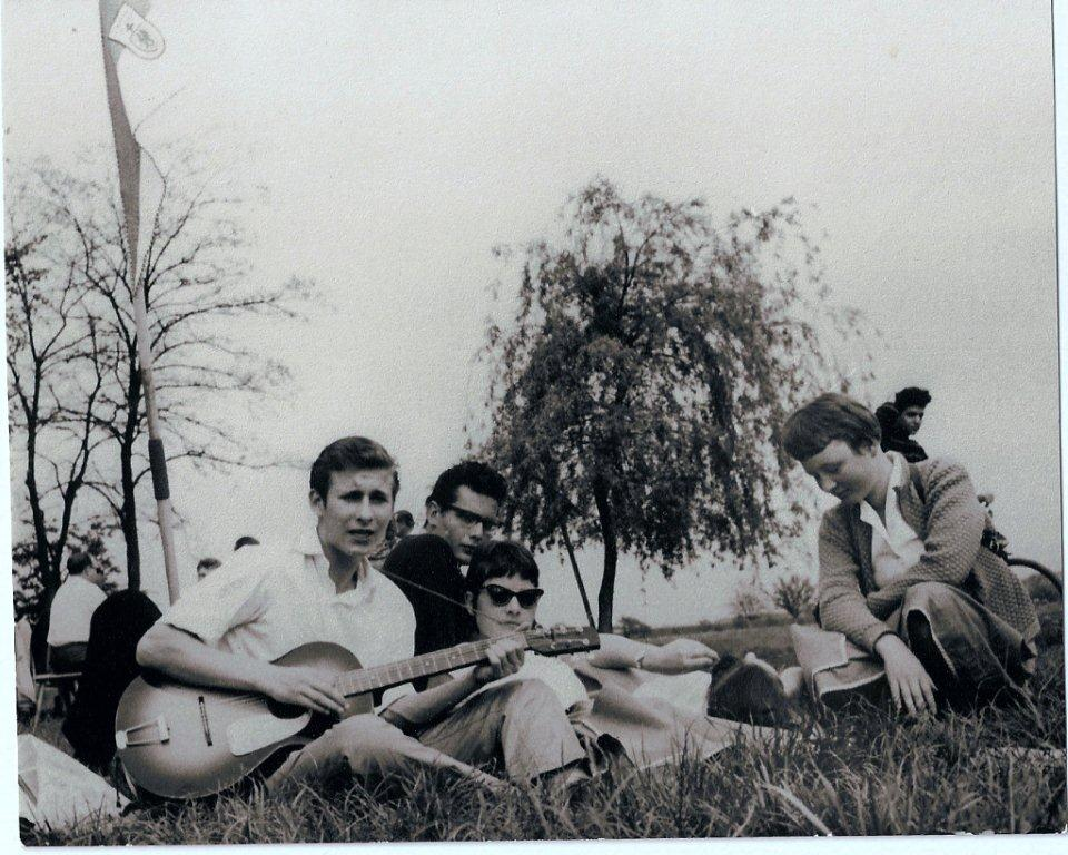 3 Michael Holm + Eike Haenel Himmelfahrtsausflug 1960
